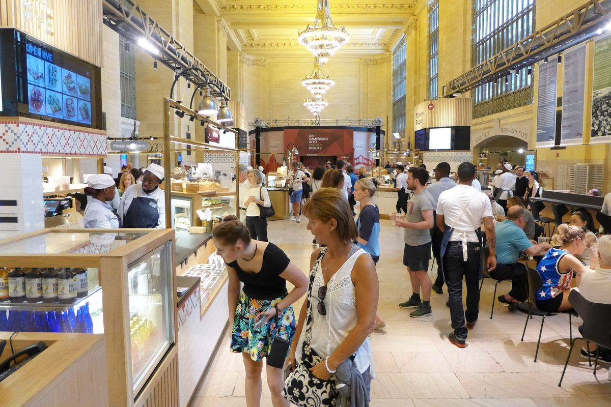 Great Northern Food Hall Claus Meyer Sprouts Another New Nordic Restaurant In Grand Central