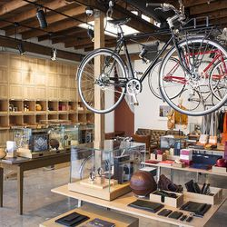 """Your next stop is another new addition, Detroit-based design company <a href=""""http://www.shinola.com/"""" target=""""_blank"""">Shinola</a> (3515 W Sunset Blvd). The brand's first <a href=""""http://la.racked.com/archives/2014/11/24/shinolas_clean_cool_west_coast_fla"""