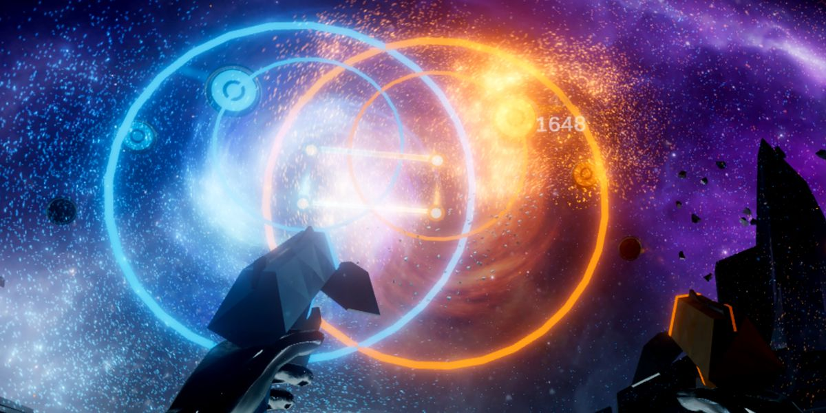 Harmonix's new game Audica looks like Beat Saber with guns