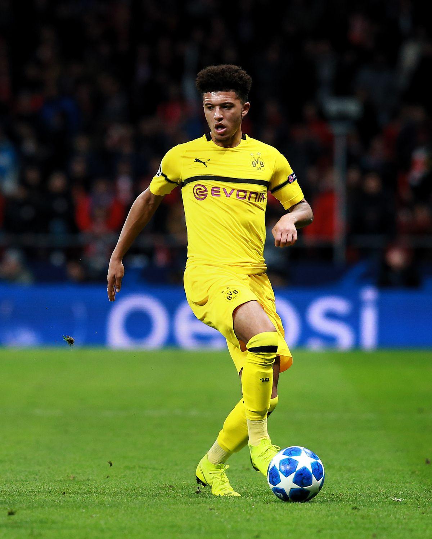 Jadon Sancho - Borussia Dortmund - UEFA Champions League Group A