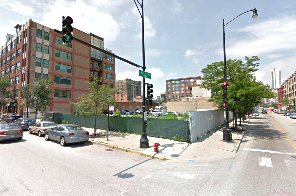 12 Story Mixed Use Development Ready To Rise At Halsted And Van