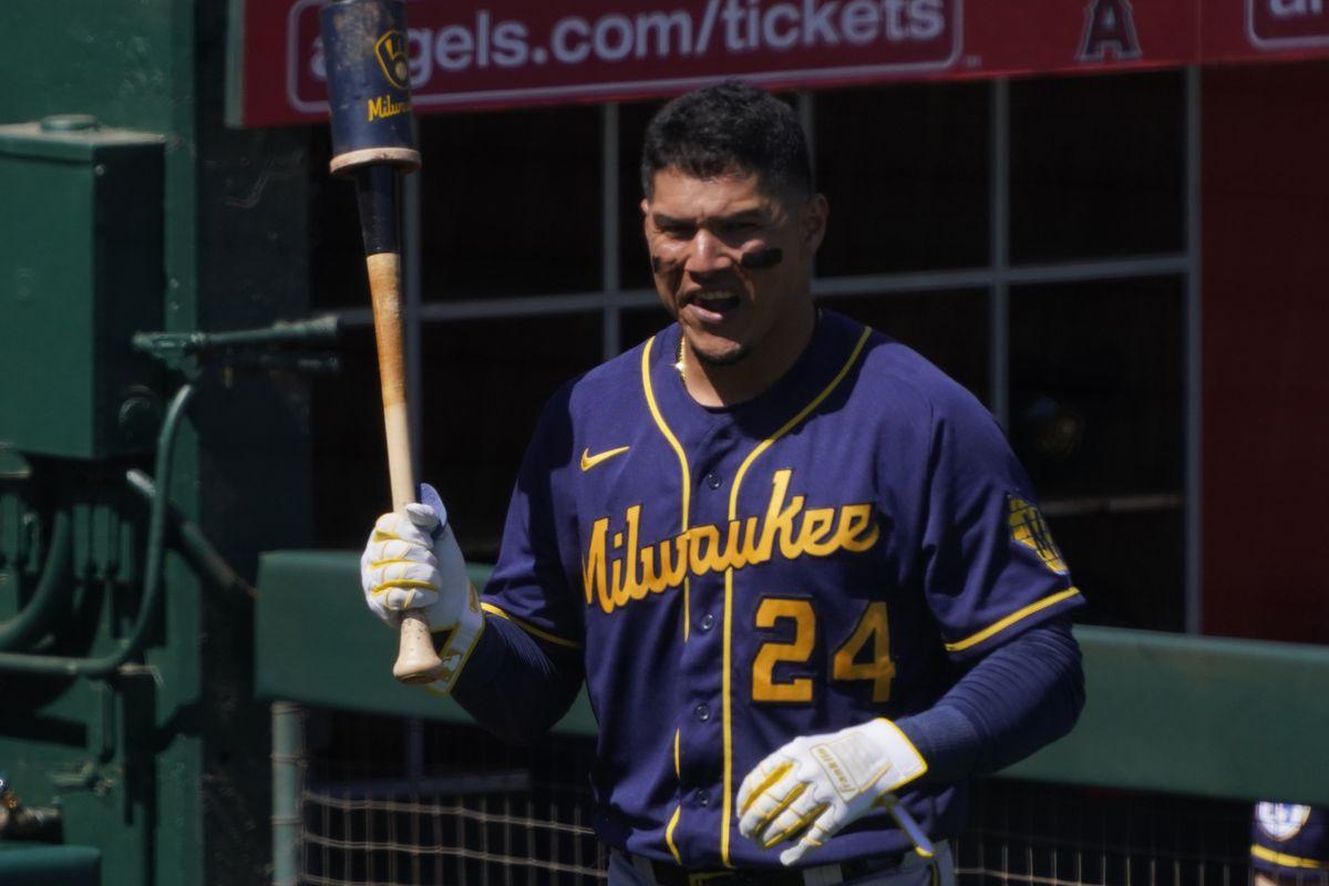 MLB: Milwaukee Brewers at Los Angeles Angels
