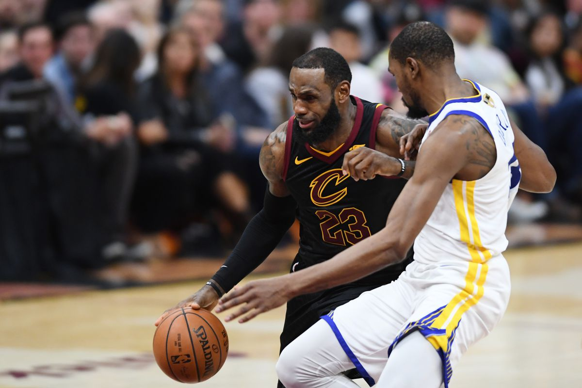 1d8db5774239 Kevin Durant understands why some players wouldn t want to play with LeBron  James
