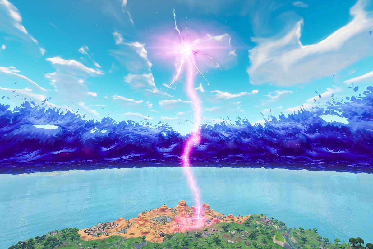 fortnite lightning bolts what do they mean polygon