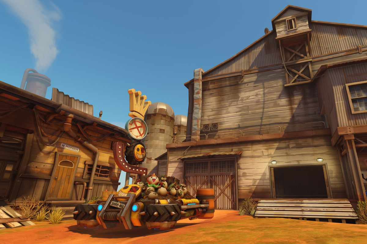 Players can now visit new Junkertown map