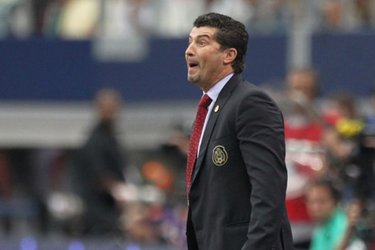 Mexico head coach Jose Manuel de la Torre is yet to lead Mexico to their first win in World Cup Qualifying