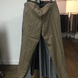 Wool trousers, $70