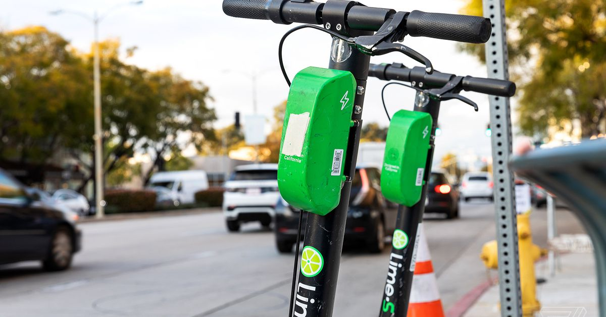 Lime is yanking its electric scooters from California and Washington due to coronavirus