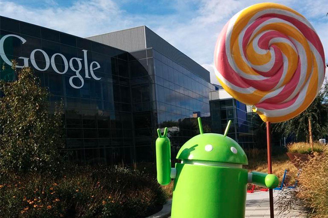 Android Lollipop statue (Lous Gray)