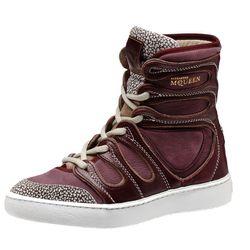 """<b>Alexander McQueen x Puma</b> Husska Boots, <a href=""""http://www.shop.puma.com/Alexander-McQueen-Husska-Women%27s-Boots/pna355321,en_US,pd.html&q=alexander%20mcqueen&vid=#!i%3D10%26color%3D03%26size%3DUS_6"""">$197.50<a/>"""