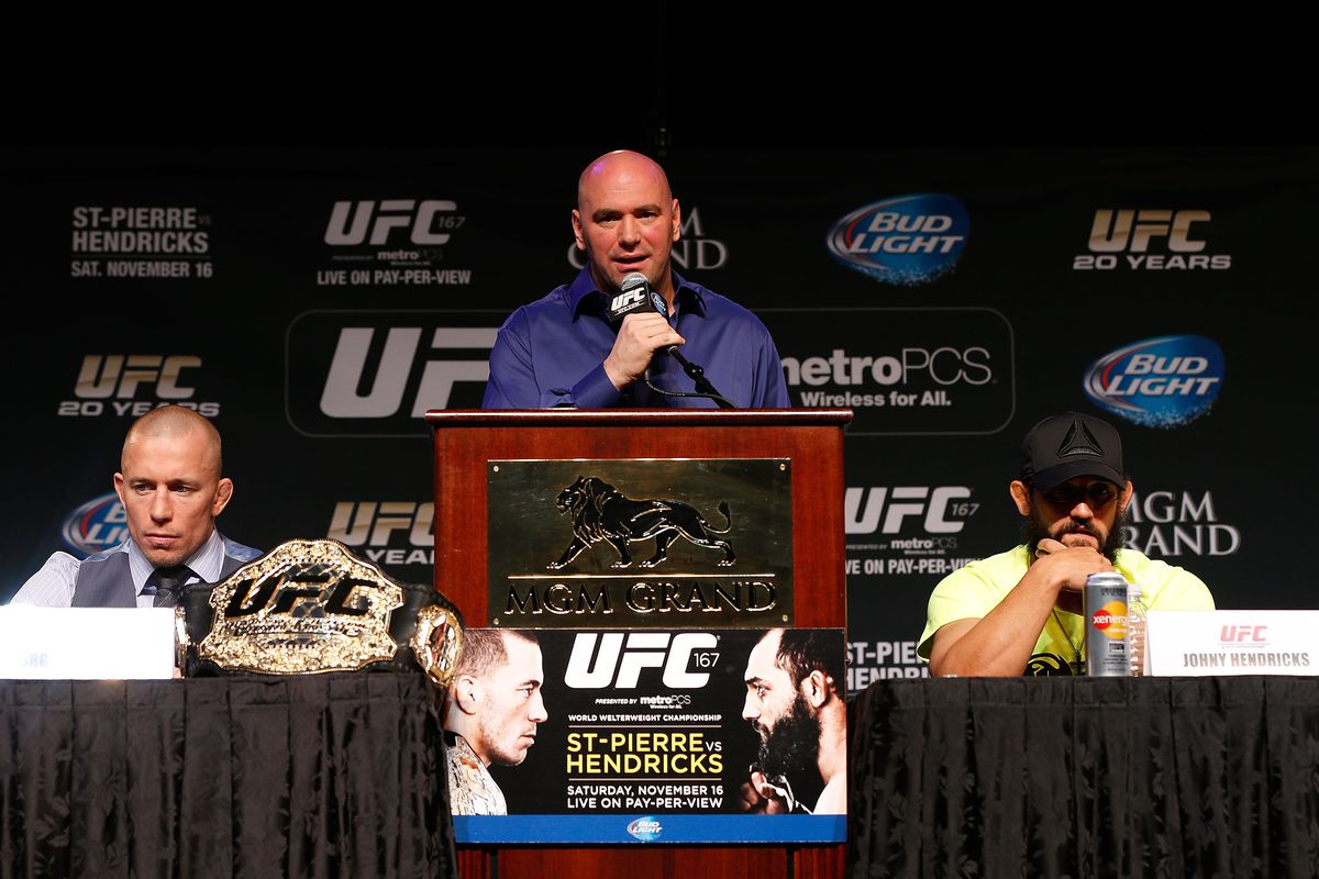 UFC 167 Press Conference