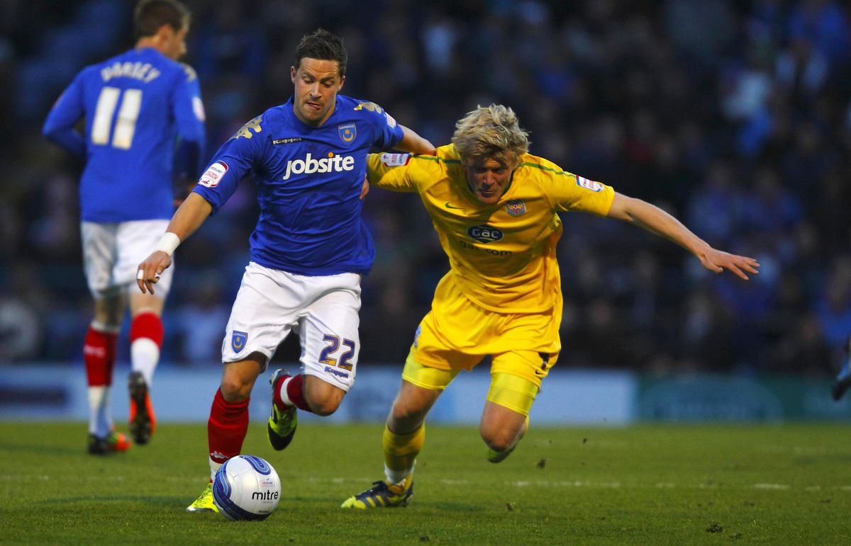 Soccer - npower Football League Championship - Portsmouth v Crystal Palace - Fratton Park