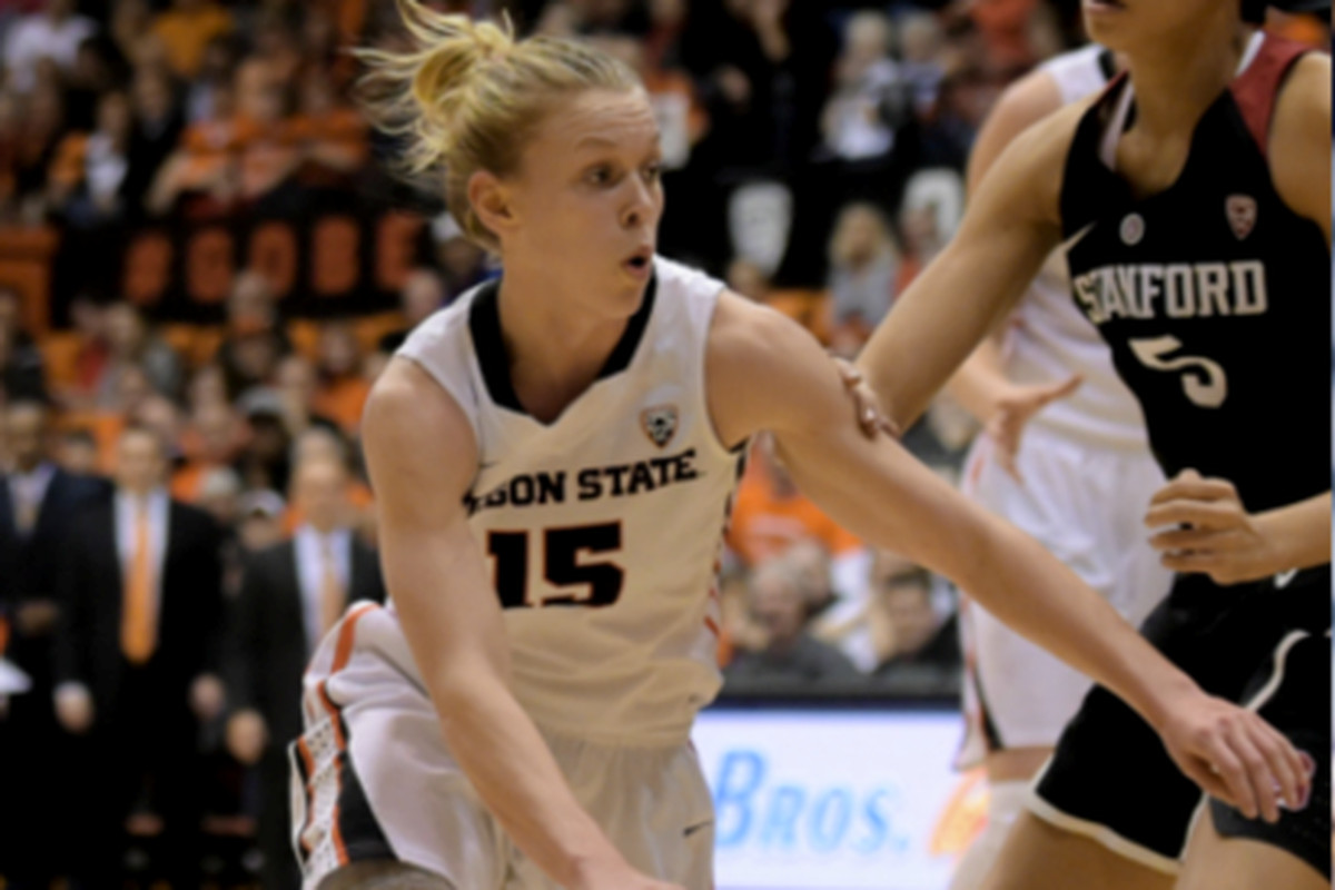 Jamie Weisner had a big week for the Beavers, and was recognized for it by the conference.