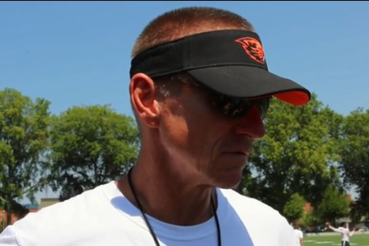 Oregon St. coach Gary Andersen's coach-speak says different things than what we were used to hearing.