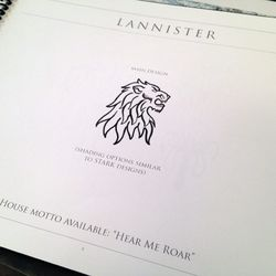 The Lannister lion. One woman told us she was getting this because she loves fan favorite Tyrion Lannister (Peter Dinklage on the show)