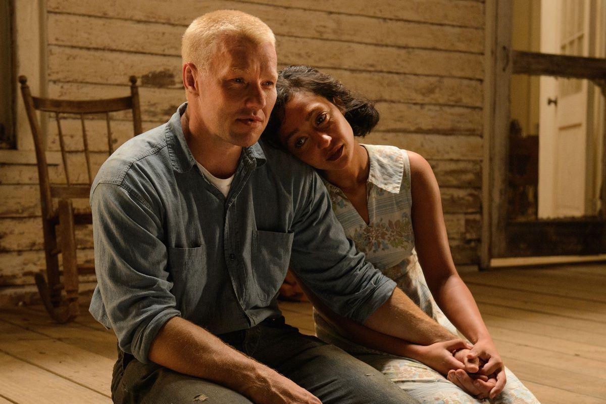 "Joel Edgerton and Ruth Negga play Richard and Mildred Loving in the movie ""Loving."""
