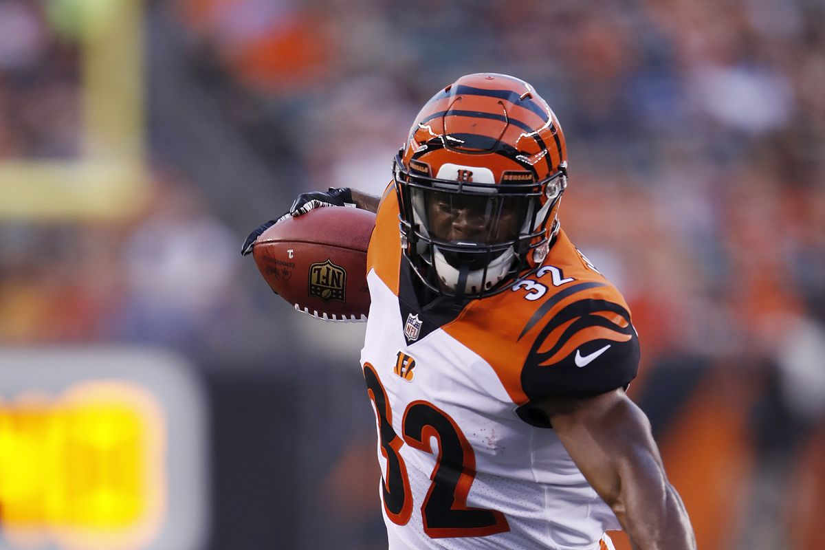 on sale 31366 251a5 Bengals RB Mark Walton evaluated for concussion - Cincy Jungle