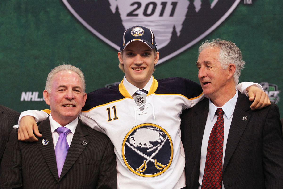 Guess which one of these guys is not at Sabres Development Camp?