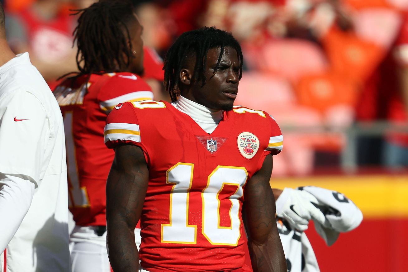 1055565742.jpg.0 - Tyreek Hill under investigation for alleged battery of a juvenile