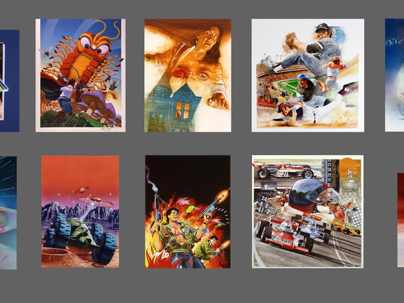 The Art of Atari: A celebration of game packaging's golden