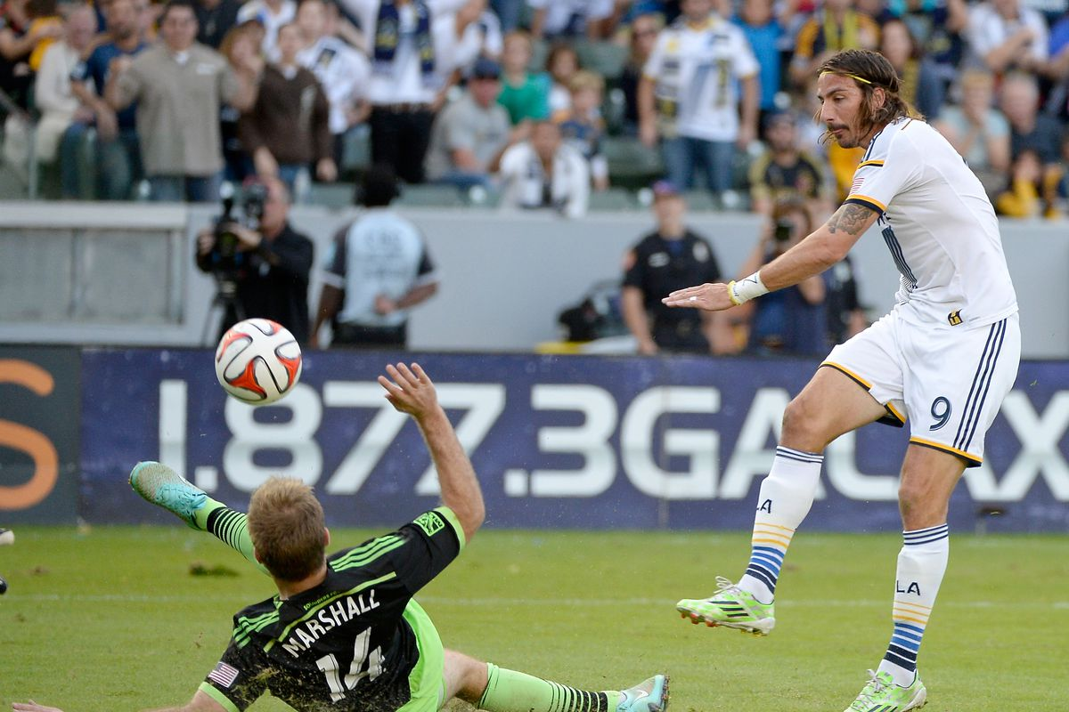 Seattle Sounders v Los Angeles Galaxy - Western Conference Final - Leg 1