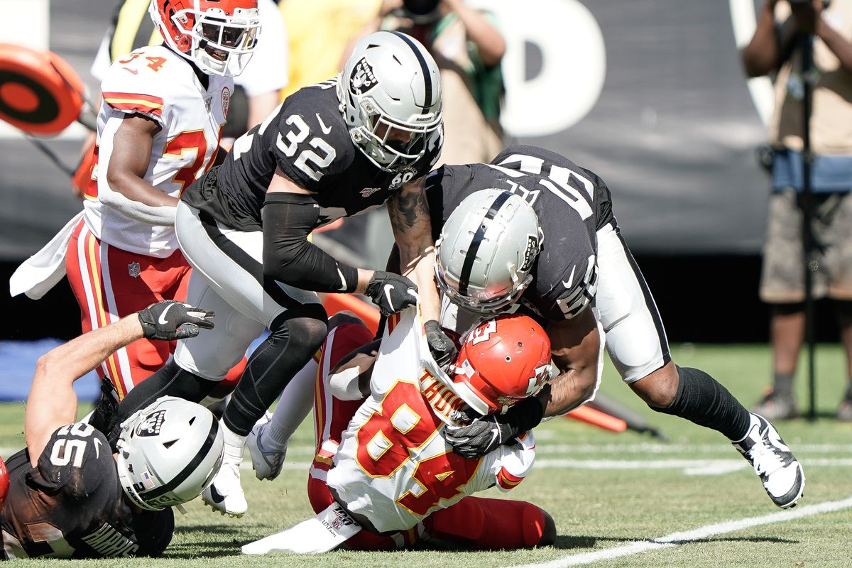 Raiders at Chiefs Viewing Guide: Game Time, TV schedule