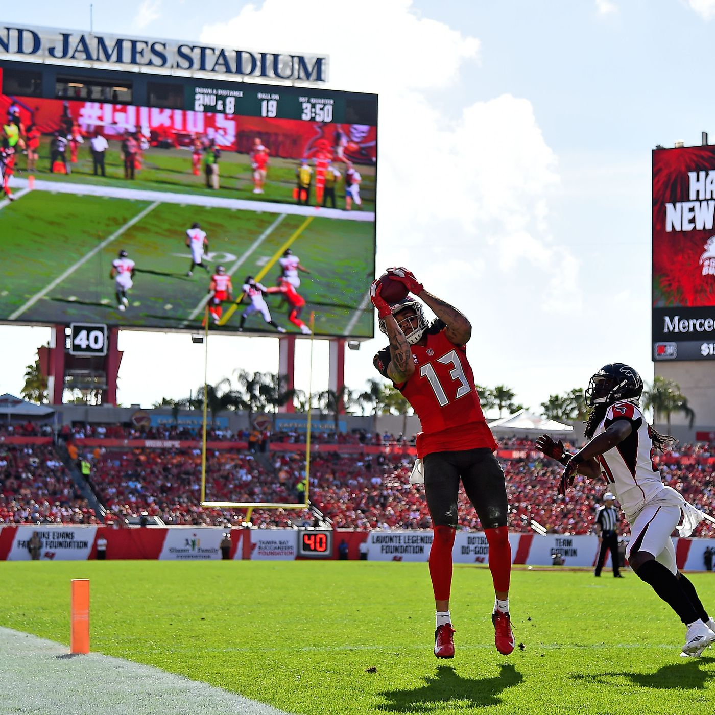 219c93e7 NFL— Tampa Bay Buccaneers vs. Atlanta Falcons Recap: So long, 2018 ...