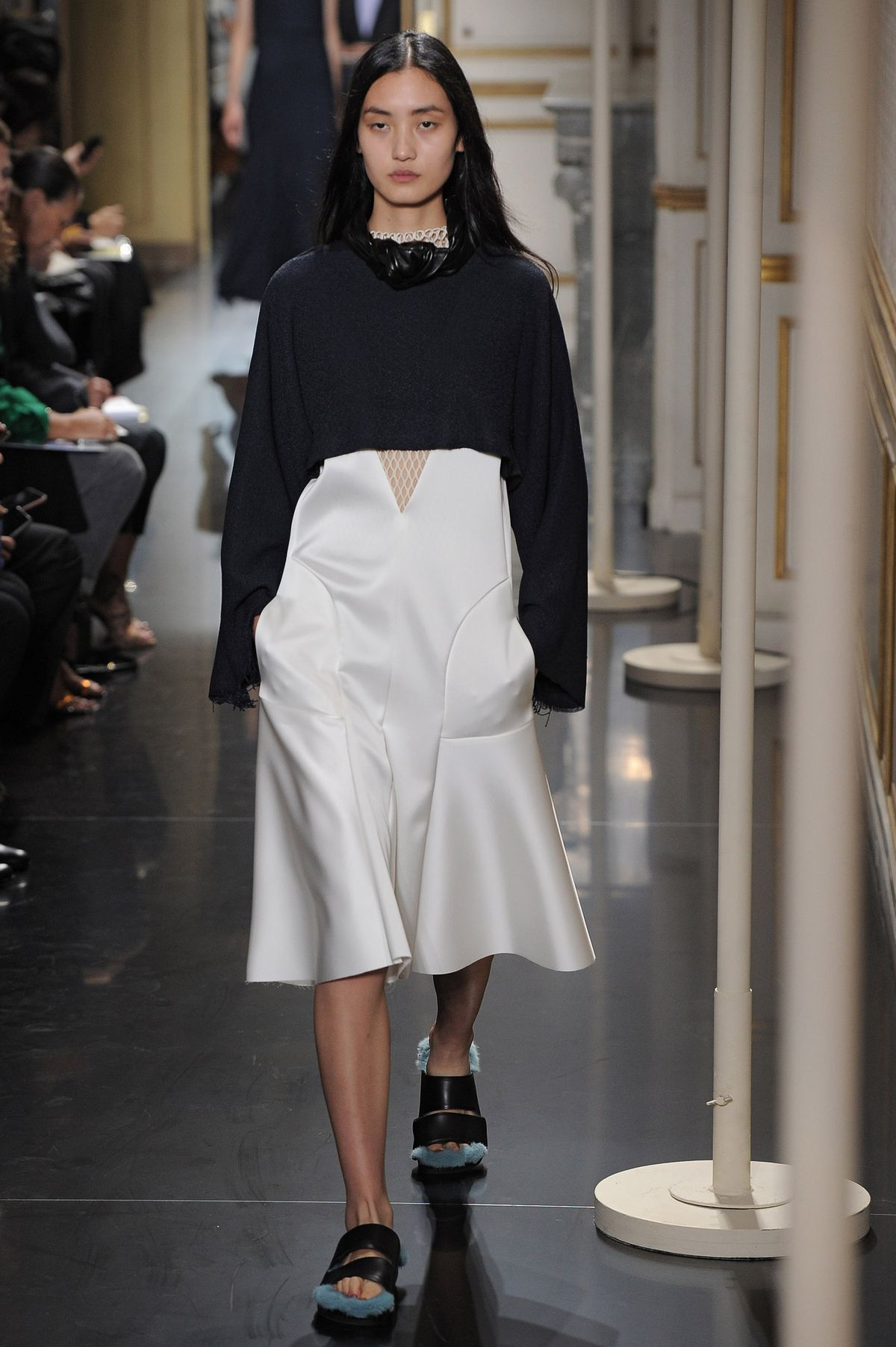 """a29bc414040 """"Furkenstocks"""" on the Céline spring 2013 runway. Photo  Chris  Moore Catwalking Getty Images"""