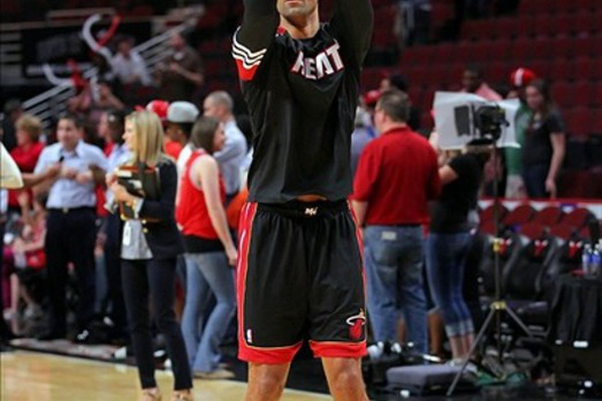 The Heat need Shane Battier to break out of his shooting slump.  In his last four games, Battier is shooting just 17.6% from the field and 0-for-11 from three point range.