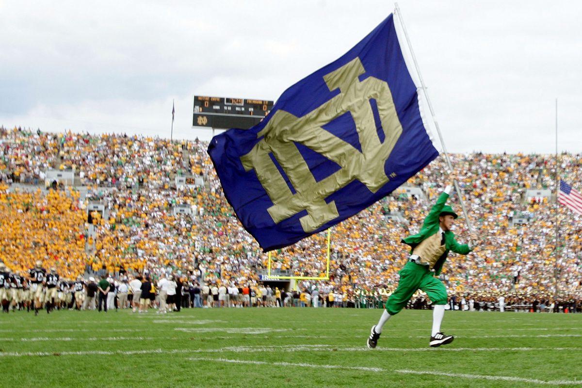 Michigan State Spartans v Notre Dame Fighting Irish