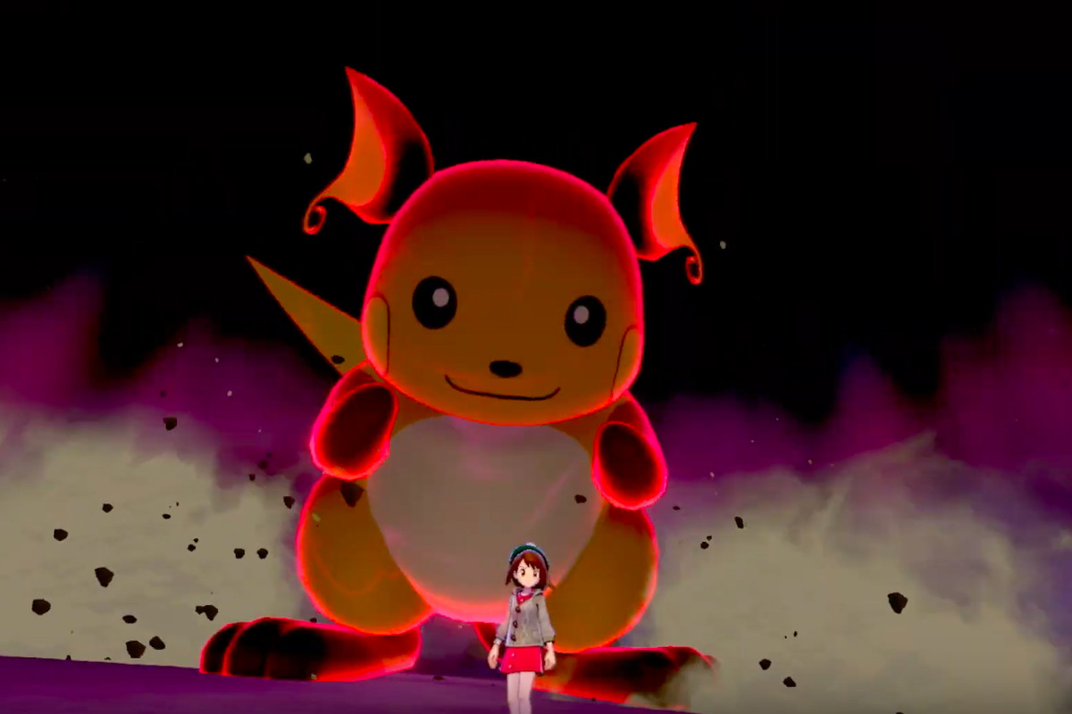 Pokemon Sword And Shield Will Have Huge Dynamax Monsters Polygon