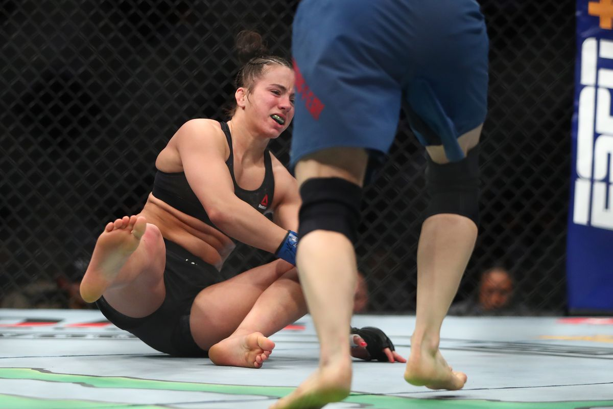 Maycee Barber upset at UFC 246's doctor