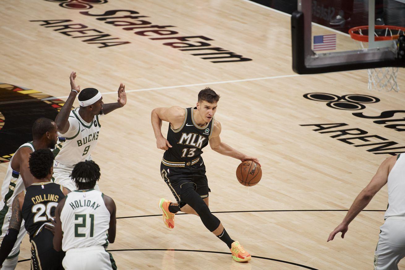 Atlanta Hawks vs Milwaukee Bucks, 2021 NBA Eastern Conference Finals