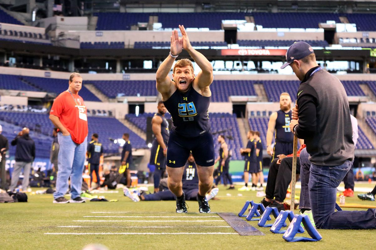 Watt at the NFL combine (APImages)