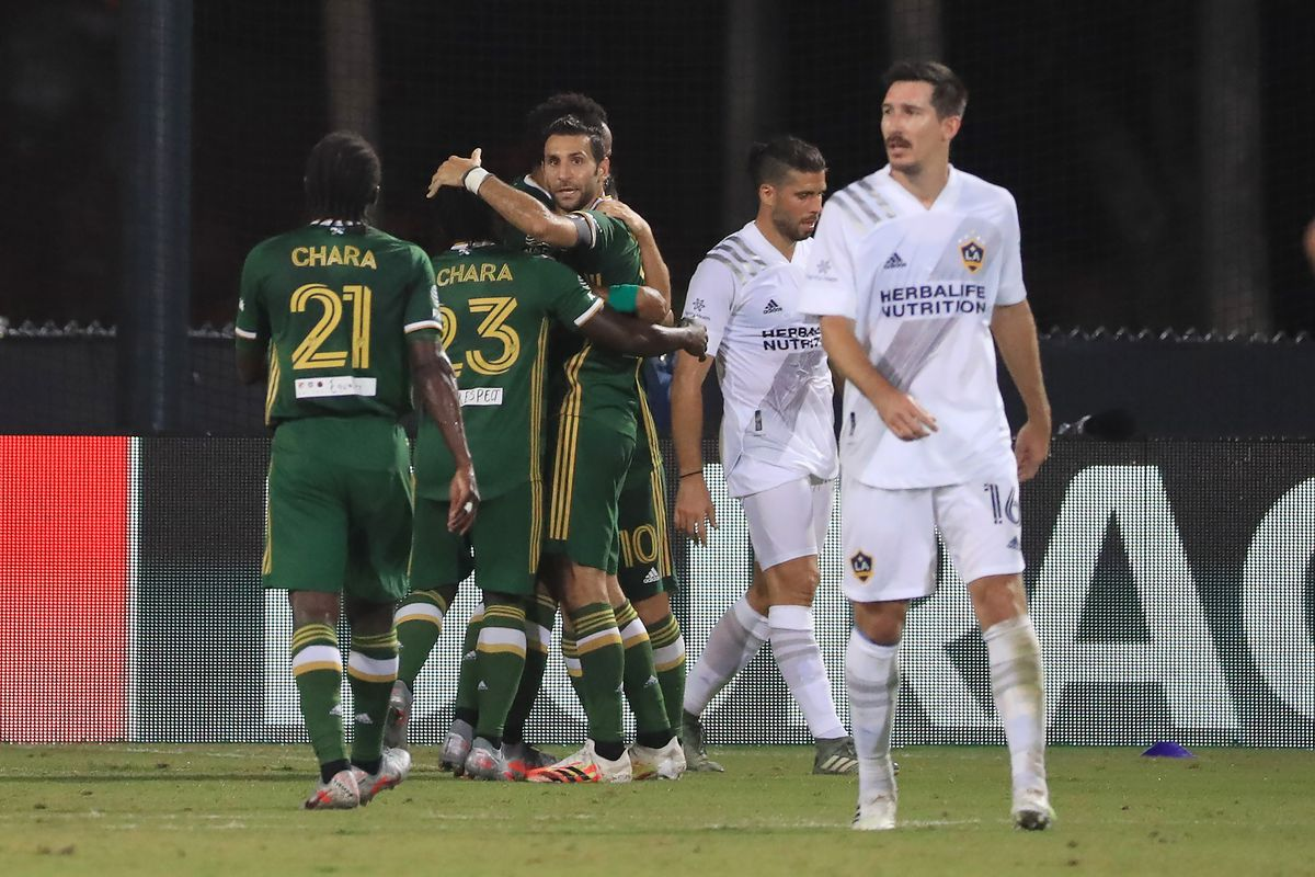 Los Angeles Galaxy v Portland Timbers - MLS Is Back Tournament