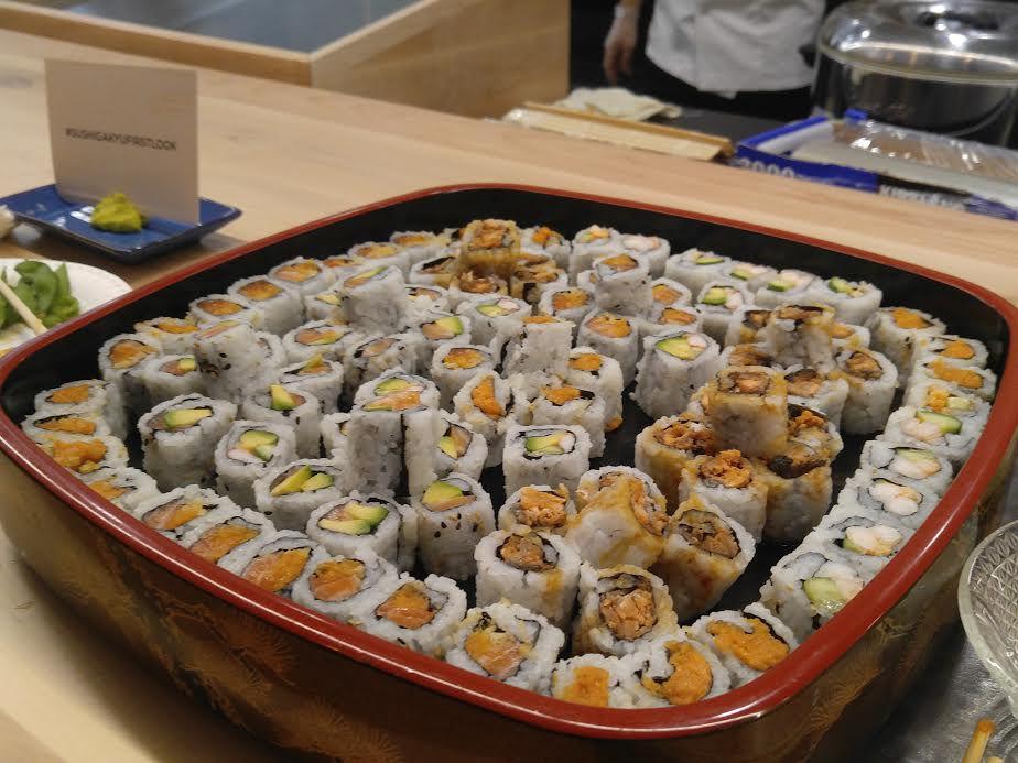 Sushi Gakyu DC food