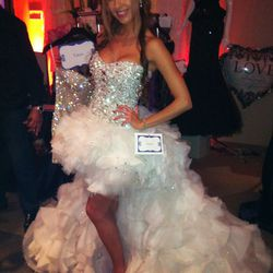 A Tulerie by Garo Hzor wedding gown. Perfect for the Vegas bride.