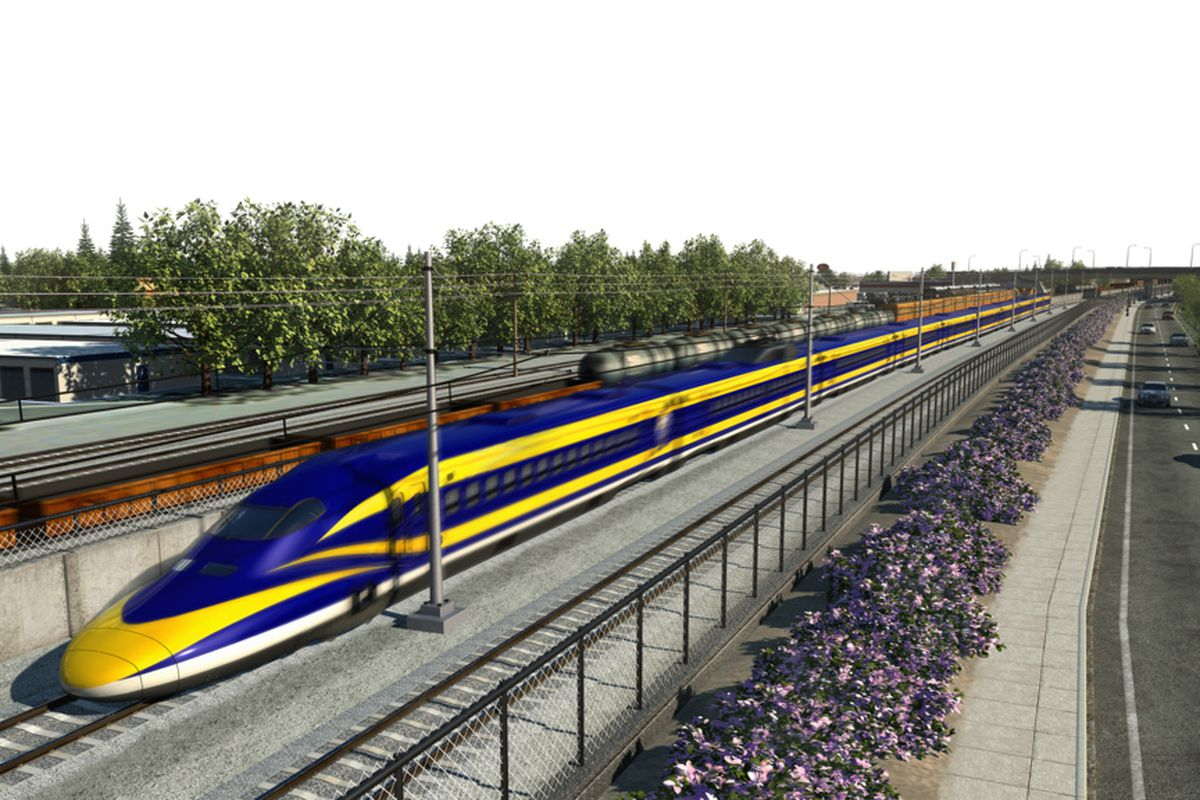 california high speed rail The california high-speed rail system will connect the mega-regions of the state and contribute to economic development and a cleaner environment.