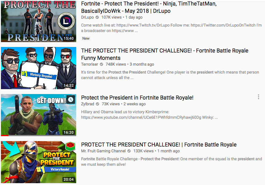 Fornites Best Unofficial Mode Is Protect The President The Verge