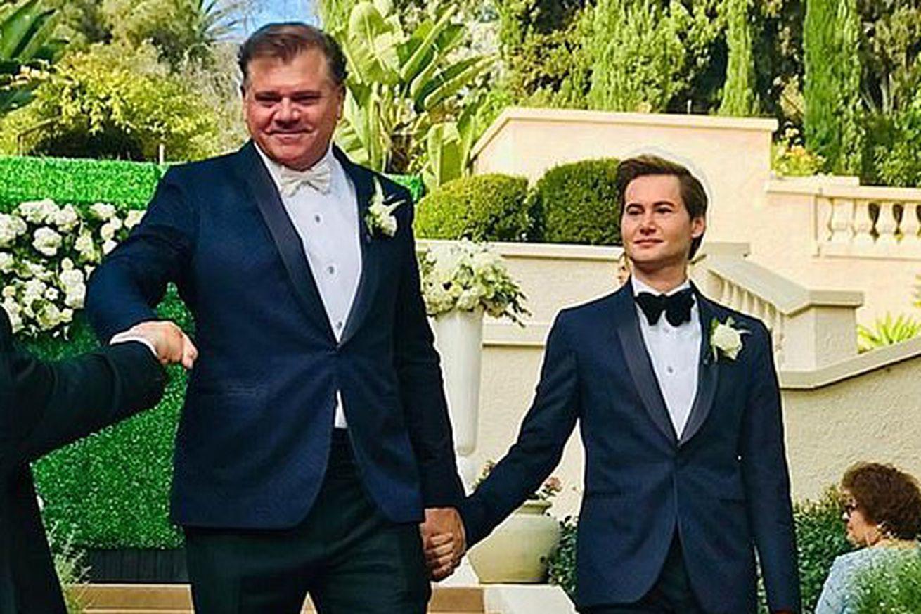 His wedding made LGBT Sports history: Former NFL linebacker Jeff Rohrer
