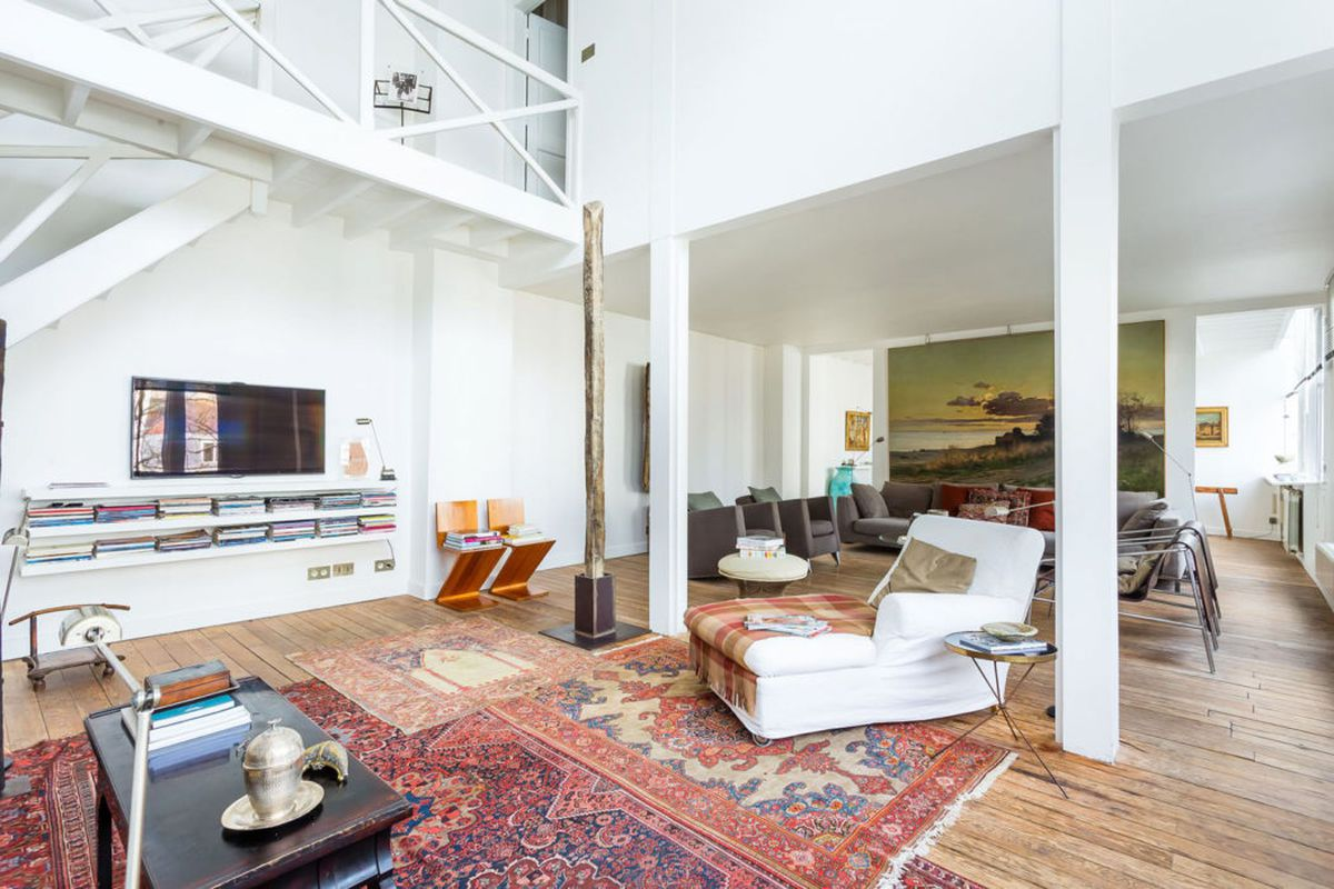 Paris Artist Studio With Loft On The Market For 2 6m Curbed