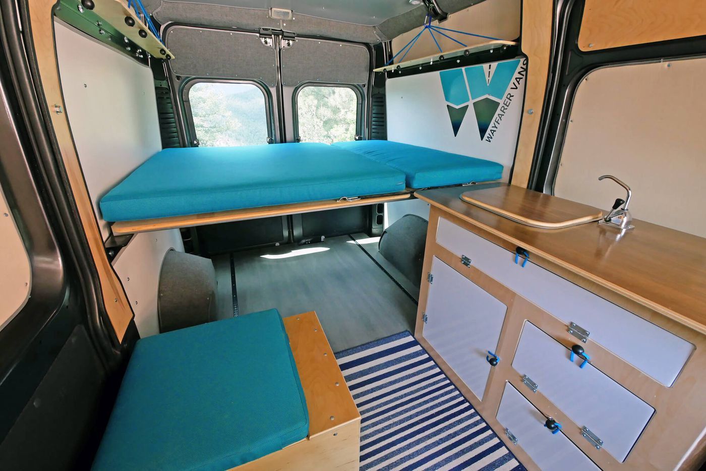 2df24deed7 DIY camper van  5 affordable conversion kits you can buy now - Curbed