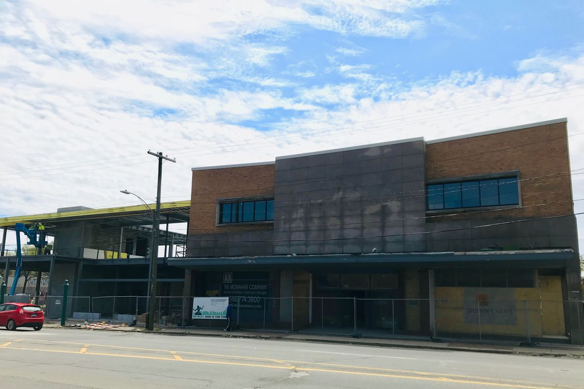 B  Siegel Detroit on Livernois Avenue gears up for August