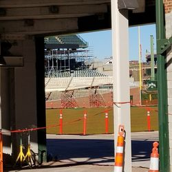 Here you can see the boards in the LF corner from another angle
