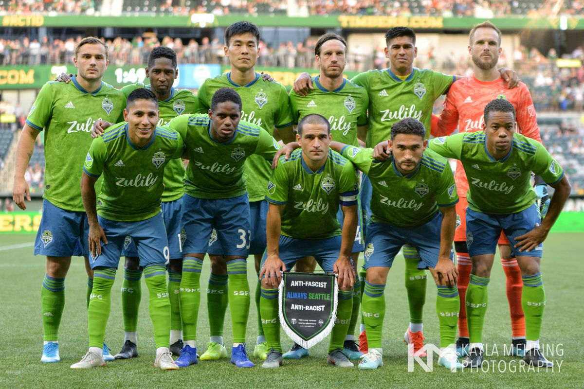 Seattle Sounders at Portland Timbers: community player ratings form