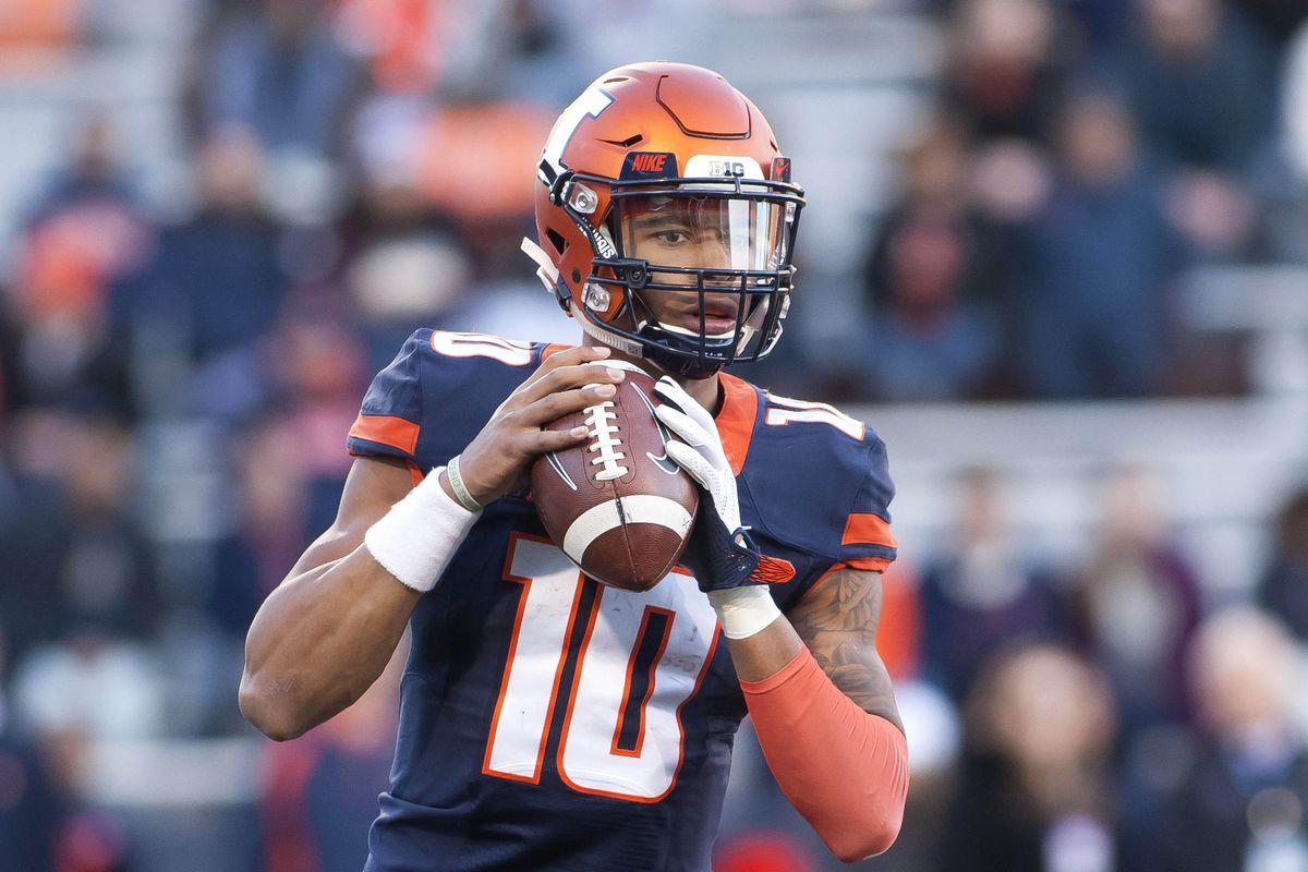 NCAA Football: Northwestern at Illinois