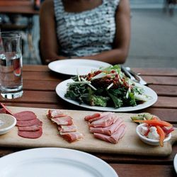"""Prime Meats charcuterie by <a href=""""http://www.flickr.com/photos/naftels/5921940958/in/pool-eater/"""">naftels</a>."""