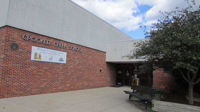 Washington Township's Crooked Creek Elementary school has maintained a high ISTEP passing rate for several years.