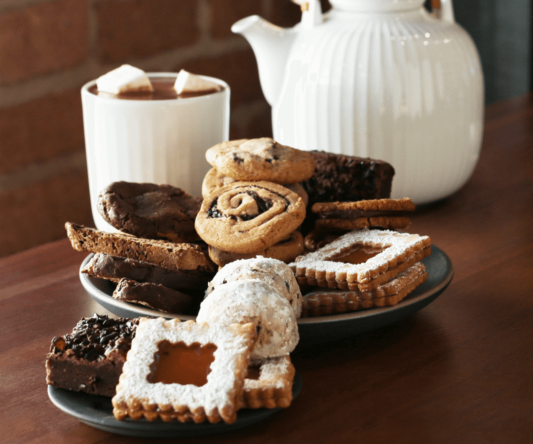 Holiday cookies from Dandelion
