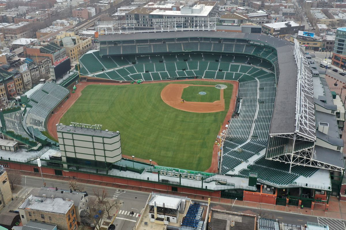 The Cubs could be in position to spend more money on the roster if fans are allowed to return to Wrigley Field this season.